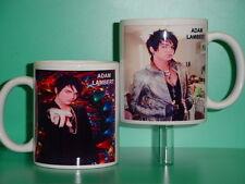 ADAM LAMBERT - with 2 Photos - Designer Collectible GIFT Mug 02