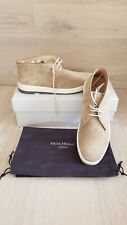 HESCHUNG Zack Taupe Suede Men's Shoes Size 8/41 France New