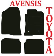 Toyota Avensis Tailored Deluxe Quality Car mats 2003-2009 models