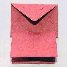 PK 5 RED ENVELOPE/NOTELET DIE CUTS  FOR CARDS AND CRAFTS