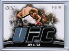 2010 TOPPS UFC KNOCKOUT JON FITCH AUTHENTIC FIGHT MAT RELIC /288