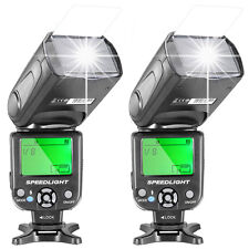 Neewer 2pcs NW-561 Speedlite Flash for Canon Rebel T5i T4i T3i T3 T2i T1i SL1