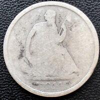 1844 O Seated Liberty Half Dollar 50c Circulated #19586