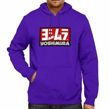Pops Yoshimura Research Logo Motorcycles Hooded Sweater Jacket Pullover Hoodie