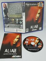Alias PS2 Stealth Video Games Fast and Free P&P VERY GOOD