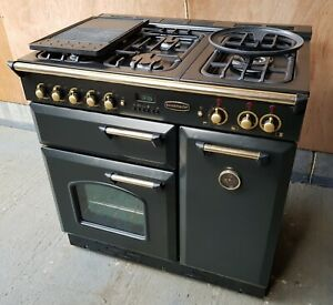 Rangemaster 90 dual fuel black ranges cooker - DELIVERY AVAILABLE
