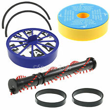 Vacuum Hoover Kit For Dyson DC07 Brush Roll Bar Beater Pre & Post Filter & Belts