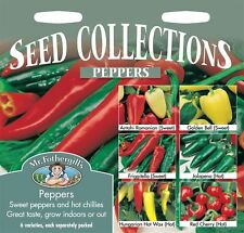 Mr Fothergills - Vegetable - Peppers Collection - 6 Packets Seed