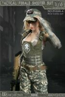 "Fire Girl Toys 1/6 FG048A Tactical Female Fighter Clothes Set Fit 12"" Figure"