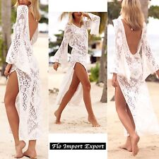 Vestito Lungo Copricostume Mare Donna Woman Dress Beach Cover Up COV0055 P
