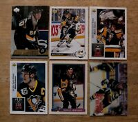 Mario Lemieux a Lot of 6 Cards