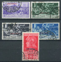 Eritrea 1930 Sass. 165-169 Usato 100% Ferrucci