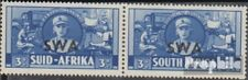 Namibië - Southwest 222-223 horizontaal Echtpaar met Fold 1941 Rüstungsbilder