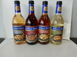 Holland House Cooking Wine 16oz Bottle (Pack of 4)