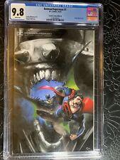 Cgc 9.8 🔥🔥BATMAN SUPERMAN #1 CRAIN VIRGIN VARIANT DC COMICS 2019