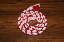 New 4ft St. Valentine's Day Red, Pink, White Handmade Braided Fleece Cat Toy Bcr