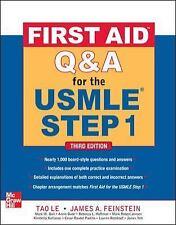 FIRST AID Q&A FOR THE U - JAMES A. FEINSTEIN M.D., ET AL. TAO LE (PAPERBACK) NEW
