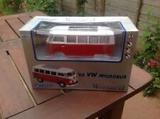 Vw Split Camper Microbus 1963 Metal Diecast 1:24 Scale By Welly NEW