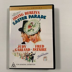Easter Parade (DVD 2005) 1948 film Judy Garland Fred Astaire Region 4