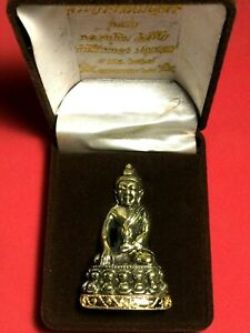 Beautiful Phra KRING CHINNABUNCHORN LP TIM 1st Gen with Box Thai Amulet