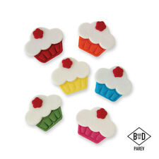 PME Handcrafted CUPCAKES Sugar Decoration Edible Cake Topper Icing Decorating
