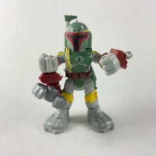 Ultra Rare Playskool Star Wars Galactic Heroes BOBA FETT  Power Up Action figure