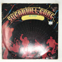Sugarhill Gang LP Vinyl Record Rappers Delight Rare 1980 German Pressing Hip Hop