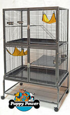 FERRET KINGDOM CAGE FOR RATS & FERRETS 1.25cm BAR SPACING