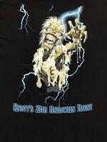 Knotts Scary Farm Tshirt 28th Annual Halloween Haunt XL 2000 Rare Collectible