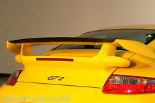 Porsche 997 Turbo GT2 Style Trunk, Wing & Carbon Fiber Rear Blade WoW