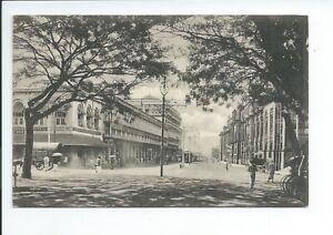 2nd Printed postcard York street  Colombo Ceylon good condition