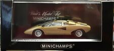 Minichamps Lamborghini Countach LP 400 gold 1/43