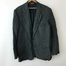 Pendleton Wool w Leather Elbows Blazer Jacket Mens SZ L 42 Western Sport Coat