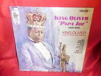 """KING OLIVER """"PAPA JOE"""" 1926-1928 Jazz LP ITALY 1971 MINT-"""