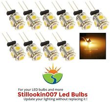 10 - G4 Low Voltage Landscape Light LED conversion 5 Warm White led's per bulb