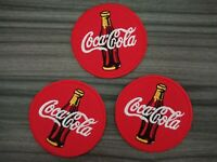 3 pcs Soda Coke CoCA CoLA  Patch Embroidered Iron or Sew on Shirt Jacket bag hat