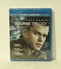 The Bourne Identity Trilogy (Blu-ray Disc, 2016, 3-Disc Set, Digital, Canadian)