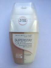 Maybelline Superstay 16hr Silky base SPF 12 Medium 1 Beige Arena