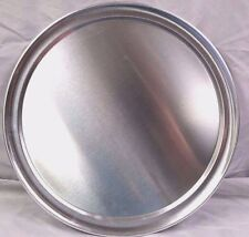 """14"""" PIZZA Tray - Pan - Aluminum - Wide Rim Tray - Home or Restaurant Use"""
