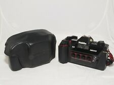 Nishika N8000 3D stereo 35mm film camera with case, and strap. G.W.O. Ex++ cond.