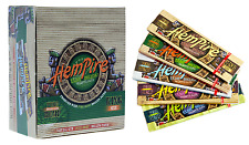 Full Box 50x Packs ( HemPire King Size ) Pure Hemp Rolling Papers Paper