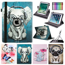 For Huawei MediaPad M2 M3 M5 T3 Lite 8.0 PU Leather Rotate Universal Case Cover