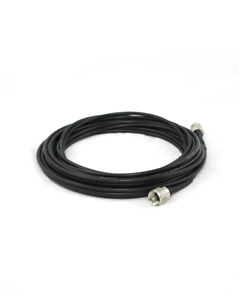 10 metre RG/58 coaxial feedline for HF dipole.