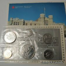 1987 Canada Prooflike 6 Coin Original Set Multiple Sets Available #coinsofcanada