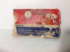 Pack RARE HTF CIRCA WWII BUDDY POSTALS ARMY SERVICE VICTORY INSIGNIA POSTCARDS