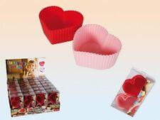 6 Stück Silikon Backform Muffinförmchen Set Silikonbackform Muffin Cupcake Form