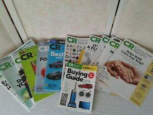 Consumer Reports Magazines 12 Issues & 2018 Buying Guide 10/2017 thu 9/2018