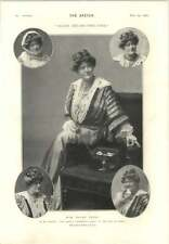 1905 Miss Ellen Terry Miss Alice Crawford come Josephine'S Cyril Maude