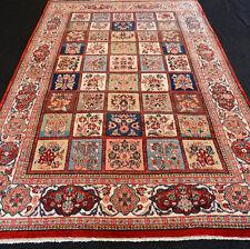 Orient Teppich Feldermuster 324 x 212 cm Perserteppich Bunt Carpet Rug Tappeto
