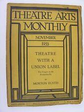 More details for theatre arts monthly nov 1933 orson welles turkestan ralph steiner actors equity